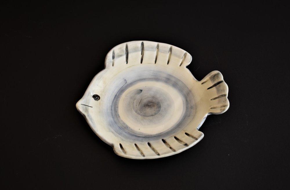 Κεραμικό  στρογγυλό μπολ  ψάρι
