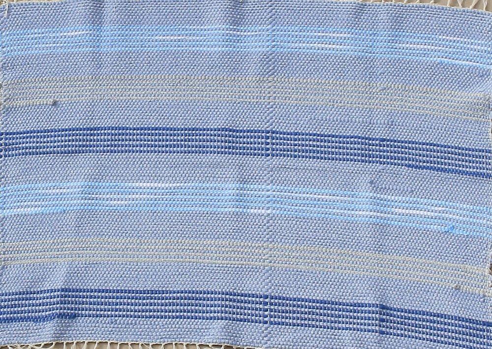 Υφαντό Χαλάκι (Γαλάζιο)