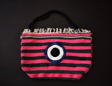 Υφαντή τσάντα θαλάσσης