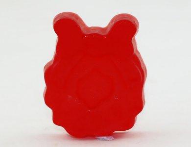 Χριστουγεννιάτικo σαπούνι Στεφάνι με άρωμα Πούδρα (Κόκκινο)