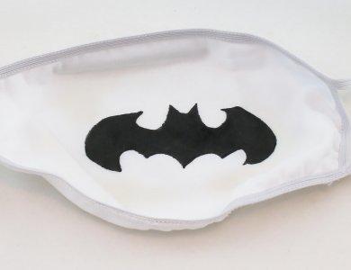 Μάσκα προστασίας - Batman (Λευκή)